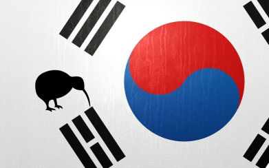 nz korea