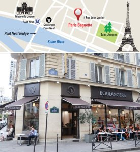 Paris Baguette address