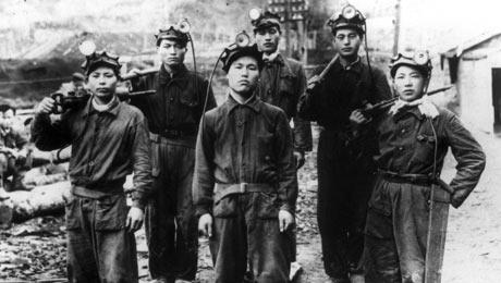 Korean Coalminers in Sahkhalin. Source: Japan Focus