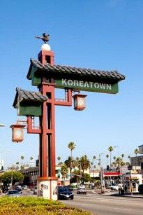 koreatown sign la